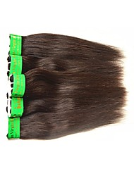 cheap -Indian Hair Straight Natural Color Hair Weaves Human Hair Weaves Natural Black Human Hair Extensions
