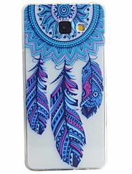 povoljno -Θήκη Za Samsung Galaxy Samsung Galaxy Maska Uzorak Stražnja maska Perje Mekano TPU za A5(2016) / A3(2016)