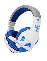 cheap -Plextone PC780 Wired Headphones (Headband) With Microphone/Volume Control/Gaming/Noise-Cancelling forMedia