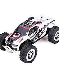 preiswerte -RC Auto WL Toys A999 2.4G Auto Monster Truck Bigfoot Off Road Auto High-Speed 4WD Treibwagen Buggy 1:24 25 KM / H Fernbedienungskontrolle
