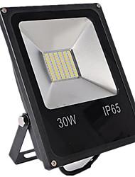 economico -1pc 30 W Fari LED Impermeabile / Decorativo Bianco caldo / Luce fredda 12-80 V Luci per esterni / Cortile / Giardino