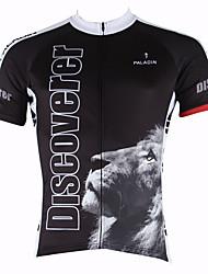 abordables -ILPALADINO Homme Manches Courtes Maillot de Cyclisme - Jaune / Vert / Bleu Animal Vélo Maillot, Séchage rapide, Résistant aux
