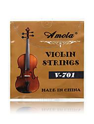 Amola V-701 Stainless Steel Nickel Wound Violin String Strings 4/4