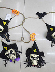 Недорогие -скелет человека гирлянд овсянка Хэллоуин украшения ткани человека фото реквизита фоне стены фестиваль декора
