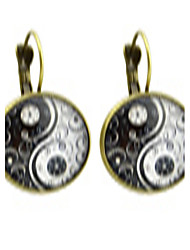Earring Circle Jewelry Women Fashion / Bohemia Style Party / Daily / Casual Alloy 1 pair Bronze KAYSHINE
