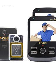 30W像素 170° CMOS campanello sistema Senza fili Fotografato / Registrazione