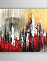 Hånd-malede Landskab Oliemalerier,Moderne Et Panel Canvas Hang-Painted Oliemaleri For Hjem Dekoration