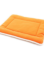 Cat Dog Bed Pet Mats & Pads Breathable Soft Orange Coffee Green Blue Blushing Pink