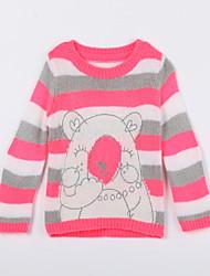 povoljno -Pamuk Životinjski uzorak Dnevno Jesen Džemper i kardigan Crvena