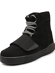 cheap -Men's Fashion Boots Casual//Party & Evening Suede Leather Medium cut Boost