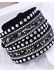 cheap -Wrap Bracelets Rhinestone Christmas Gifts