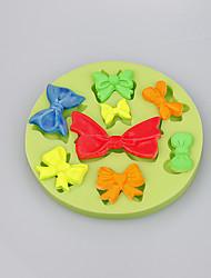 Недорогие -Различные формы лука шоколад DIY помадка торт украшение силиконовая форма кухня выпечка цвет случайный