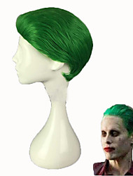 Green Joker Wig wit Cap Fashion Party Halloween Cosplay Costume Wigs