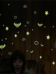 DIY Halloween-Wandaufkleber Leucht