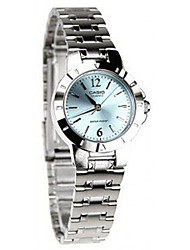 cheap -Women's Quartz Wrist Watch / Hot Sale Stainless Steel Band Casual Dress Watch Fashion Silver