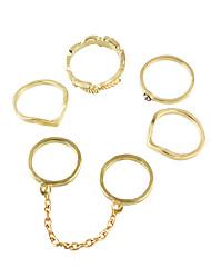 cheap -Fashion Gold Color Midi Fingers Rings Set