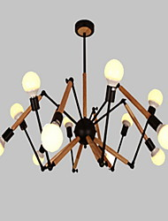 cheap -Chandelier Ambient Light - Mini Style Bulb Included, Modern / Contemporary, 110-120V 220-240V Bulb Included