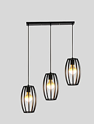 cheap -E26/E27 Pendant Light   Traditional/Classic for Designers MetalLiving Room / Bedroom / Dining Room / Kitchen / Study