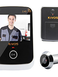 KiVOS KDB307 Household Visual Intelligent Electronic Eye with Anti Theft Wireless Camera Monitoring