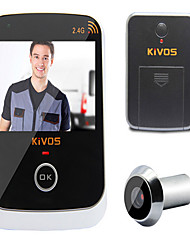 cheap -KiVOS KDB307 Household Visual Intelligent Electronic Anti-Theft Door Eye Camera Monitoring