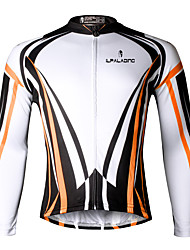 cheap -ILPALADINO Cycling Jersey Men's Long Sleeves Bike Jersey Top Quick Dry Ultraviolet Resistant Breathable Compression Lightweight Materials