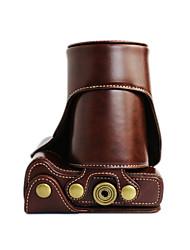 abordables -Sac-Une épaule-Appareil photo numérique-Canon-Résistant à la poussière-Blanc / Noir / Café / Marron