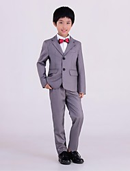 New Boys suits for weddings Kids Prom Suits Silver Wedding Suits