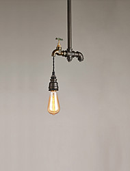 cheap -1 Lights Vintage Industrial Simple Loft Metal Pendant Lights Living Room Dining Room Kitchen Cafe Light Fixture