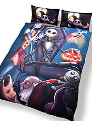 Surprise Price Nightmare Before Christmas Bedding Gift Home Unique Design Duvet Cover Set Twin Full Queen Size