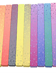 2PCS A Rectangle High-Grade Can Be Washed Printing The Gradient The Colours Of The Rainbow Sponge File 6 Color Random