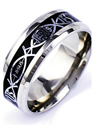 cheap -Men's Silver Alloy Band Ring