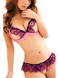 cheap -Women's Lace Lingerie Ultra Sexy Suits Nightwear,Sexy Lace Thin Polyester Lace