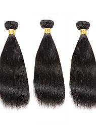 Cheap 8-12inch Virgin Hair 3Bundles 150g Unprocessed Brazilian Straight 100% Human Hair