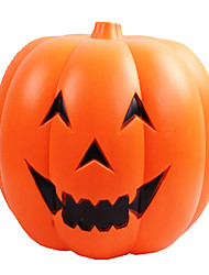 1PC Voice-Control LED Light-Emitting Pumpkin Halloween Pumpkin  Barrels Smiling Face  Decorations Bar Stores