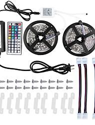 economico -ZDM® 10m Set luci 300 LED 5050 SMD 1 adattatore 12V 6A / 1 telecomando da 44Keys / 1Impostare la staffa di montaggio Colori primari Accorciabile / Impermeabile / Collagabile 100-240 V 1set / IP65