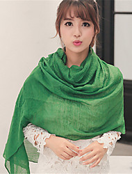 cheap -Solid Candy Colors Cotton Scarf Autumn And Winter Long Oversized Shawl Scarves