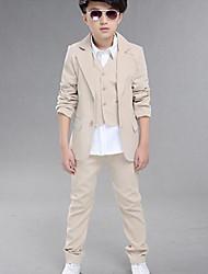 cheap -Boys' Formal Solid Sets,Cotton All Seasons Suit & Blazer
