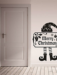 cheap -AYA DIY Wall Stickers Wall Decals Merry Christmas Stickers 42*52cm