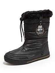 Žene Čizme Proljeće Jesen Udobne cipele PU Ležeran Ravna potpetica Crna Smeđa Bijela Srebrna