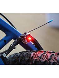 cheap -Rear Bike Light / Safety Light / Tail Light LED Bike Light LED Cycling Small Size, Super Light C-Cell 100 lm Battery Cycling / Bike