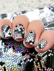 abordables -1pcs Engomada del arte del clavo Foil Tape Desvistiendose maquillaje cosmético Nail Art