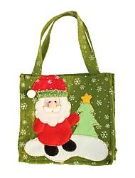 cheap -Creative Santa Claus Snowman Christmas Tree Elk Gift Bags Of Handmade Fashion Christmas Gift Bags Home Decoration