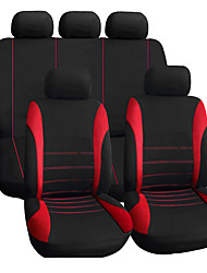 cheap -Car Seat Covers Seat Covers Textile For universal 2011 1990 2001 2012 1991 2002 2013 1992 2003 2014 1993 2004 2015 1994 2005 2016 1995