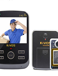 KiVOS KDB300M Intelligent Visualization Household Anti-Theft Door Bell with Wireless Monitoring Camera