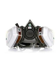 abordables -(Cartouche filtrante double) anti-virus et un masque de peinture demi-masque