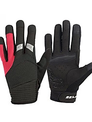cheap -Sports Gloves Touch Gloves Keep Warm Wearable Wearproof Anti-skidding Protective Limits Bacteria Full-finger Gloves Spandex Cotton Fibre