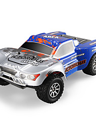 abordables -Coche de radiocontrol  WL Toys A969-B 2.4G 4WD Alta Velocidad Drift Car Off Road Car Buggy (de campo traversa) 1:18 Brush Eléctrico 70 KM