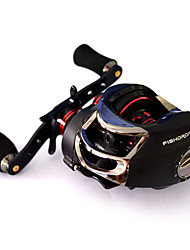 Fishdrops Baitcast Reels Gear Ratio 7.0 Right-handed 18 Ball Bearings  Sea Fishing-OX