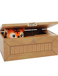 Toys Square Tiger Wood Cartoon Pieces Children's Day Gift