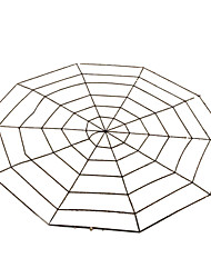 cheap -Spider Halloween Props Men's Women's Halloween Festival / Holiday Halloween Costumes White Black Solid Colored